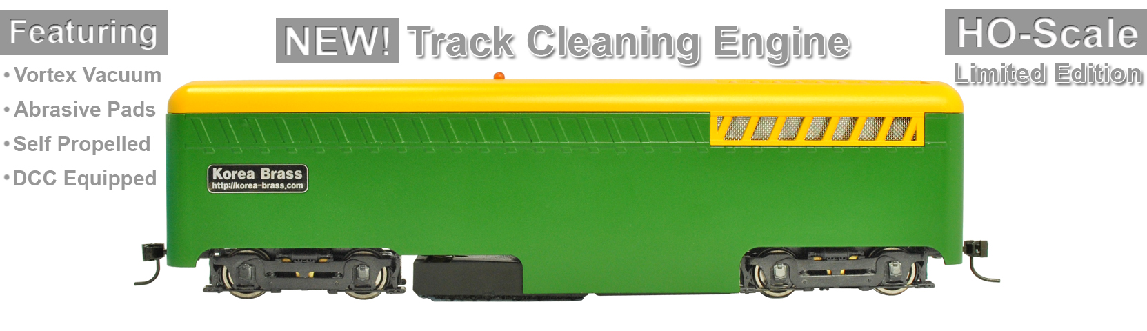 Limited Edition Track Cleaning Engine Now Shipping!