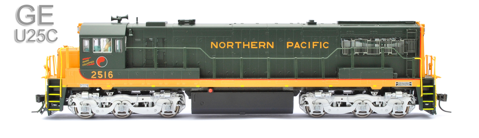 Northern Pacific - Road Numbers: 2516, 2517, 2518