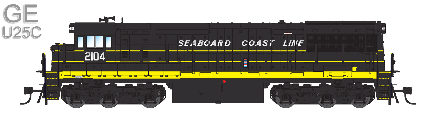Seaboard Coast Line (Coming Soon): 2104, 2109